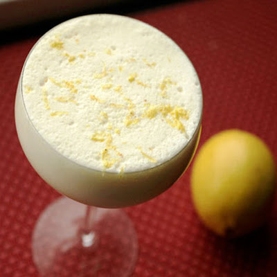 Lemon-Buttermilk Eggnog