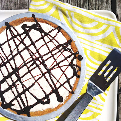 (Gluten Free) No Bake Peanut Butter Cream Pie