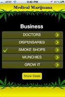 Screenshot of MEDICAL MARIJUANA APP