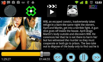 Screenshot of a Boxee Remote