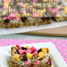 Springtime Magic Cookie Bars