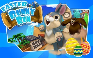Screenshot of Easter Bunny Run