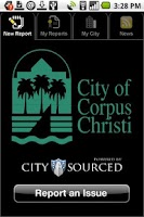 Screenshot of Corpus Christi Mobile