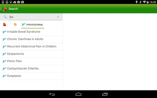 Screenshot of Patient.co.uk