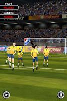 Screenshot of Flick Soccer!