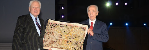 President Shimon Peres Lays the Cornerstone for the New Museum of the Jewish People at Beit Hatfutsot