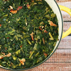 Kale and Mustard Greens
