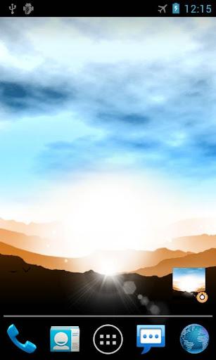 Sunrise Pro Live Wallpaper