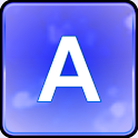 Royal Blue Glitter Keyboard icon