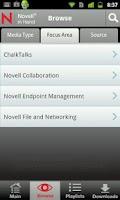Screenshot of Novell in Hand