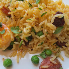 Shrimp and Chorizo Lazy Paella