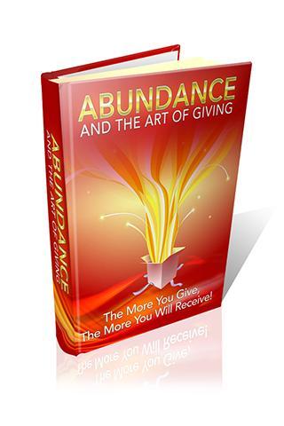 Abundance: the Art of Giving