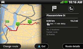 Screenshot of TomTom U.S.A.