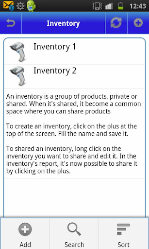 My Inventory - screenshot