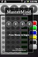 Screenshot of MasterMind for Android FREE