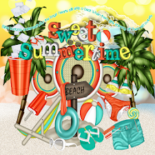 Sweet Summer GO SMS PRO THEME