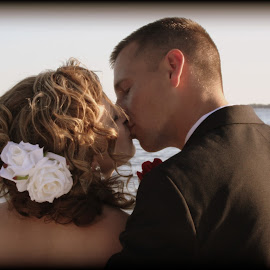 by Christie Sassenrath - Wedding Bride & Groom