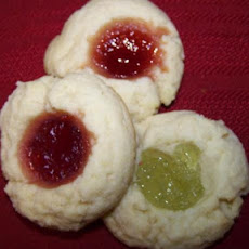 Holiday Thumbprint Cookies