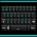 Blackout Cyan Keyboard Skin icon