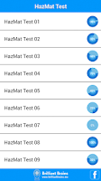 Screenshot of HazMat Test Lite