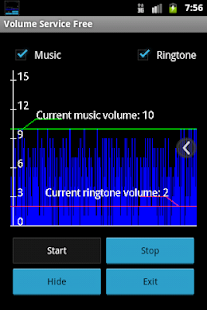 Volume Service Free - screenshot