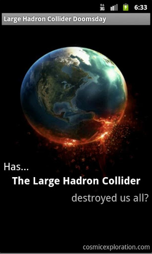 Large Hadron Collider Doomsday
