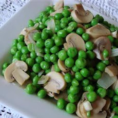 Peas with Mushrooms
