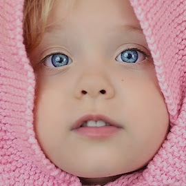 Pink and Blue by Lucia STA - Babies & Children Child Portraits