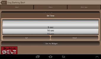 Screenshot of Barking Dog Sounds