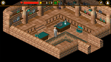 Screenshot of Little Big Adventure