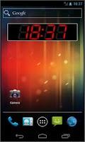 Screenshot of PK Led Clock Widget