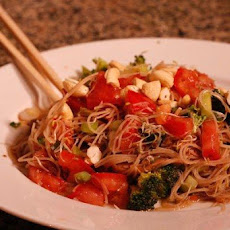 Asian Vegetable Pasta Salad
