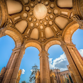 Palace of Fine Arts 2 by Max Juan - Buildings & Architecture Statues & Monuments ( fine arts, buildings, architecture, palace, san francisco, Architecture, Ceilings, Ceiling, Buildings, Building )