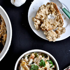 White Bean and Parmesan Baked Orzo