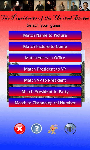 United States Presidents Games