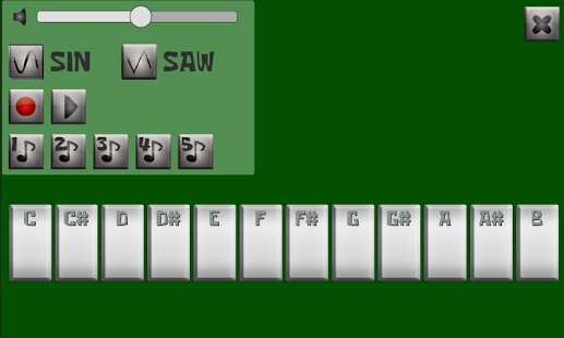 Smart Synthesizer Free - screenshot