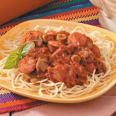 Two-Meat Spaghetti Sauce