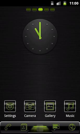 Go Launcher EX Black Metal Lim