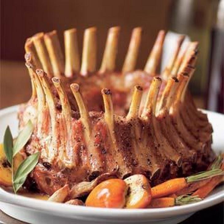 Brined Crown Roast of Pork Recipe | Yummly