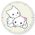 Kitten Clock Widget