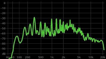 Screenshot of FrequenSee HD - Audio Analyzer