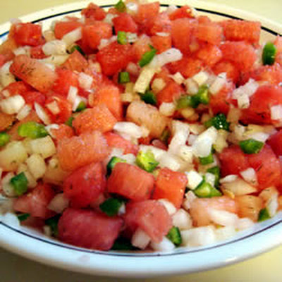 Watermelon Blueberry Salsa Recipes — Dishmaps
