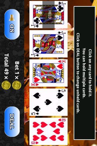 【免費紙牌App】CF Video Poker Lite-APP點子