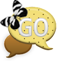 GO SMS - Polkadot Butterfly 3 icon