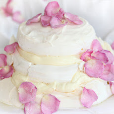 Three-tiered Rose Pavlova