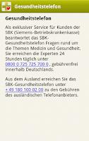 Screenshot of APPzumARZT