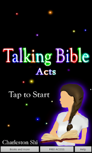 Free Talking Bible - Acts - screenshot