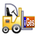 Warehouse inventory icon