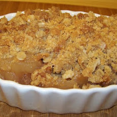 Cinnamon Oatmeal Apple Crisp