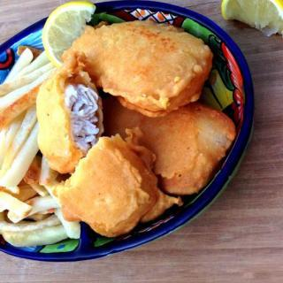 Gluten-free Egg-free Cider Battered Fish